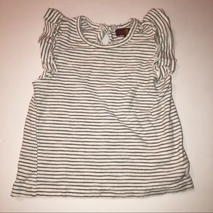 7 for all Mankind Striped Little Girls Top